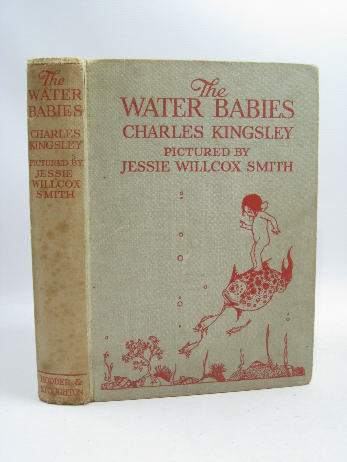 Photo of THE WATER BABIES written by Kingsley, Charles illustrated by Smith, Jessie Willcox published by Hodder & Stoughton (STOCK CODE: 1315173)  for sale by Stella & Rose's Books