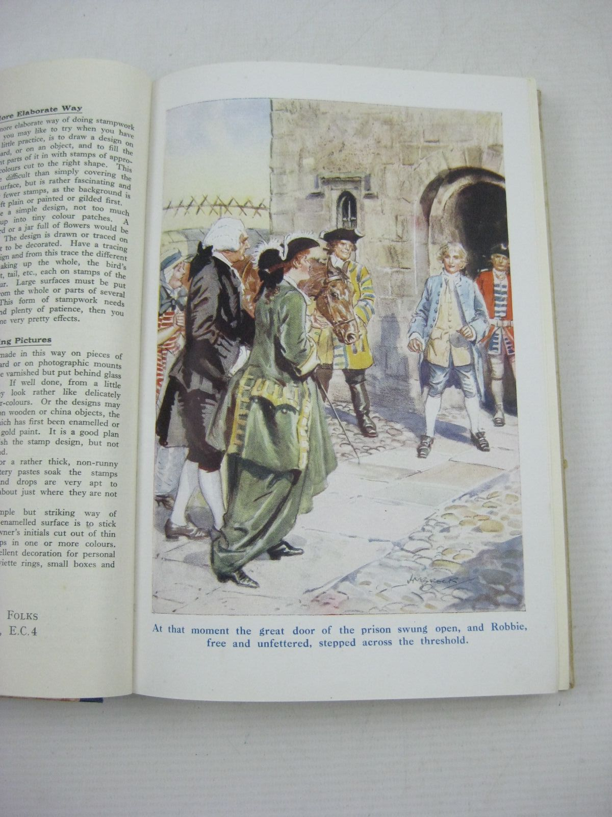 Photo of LITTLE FOLKS 1928 written by Parry, D.H.<br />Chaundler, Christine<br />Hayes, Nancy M.<br />Talbot, Ethel<br />Oxenham, Elsie J.<br />et al, illustrated by Brock, C.E.<br />Earnshaw, Elizabeth<br />Brock, H.M.<br />et al., published by The Amalgamated Press Limited (STOCK CODE: 1315183)  for sale by Stella & Rose's Books