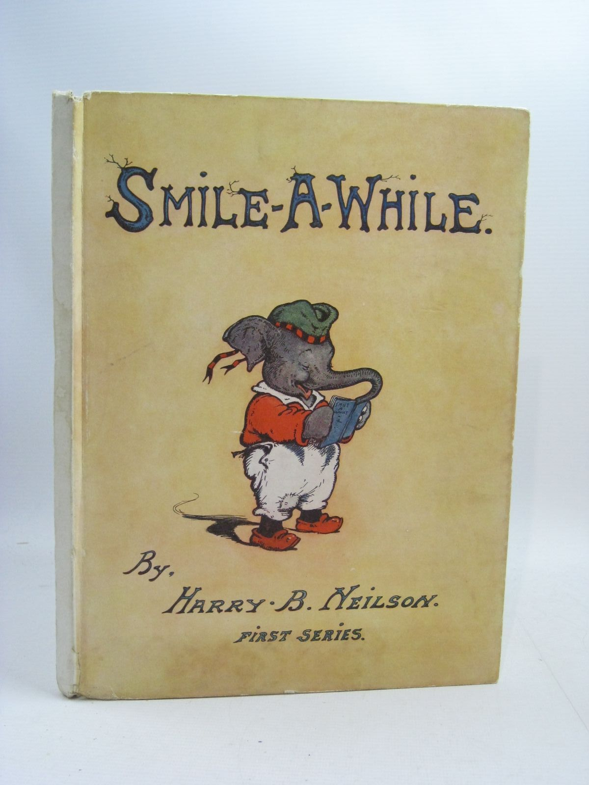Photo of SMILE-A-WHILE written by Davis, Angel illustrated by Neilson, Harry B. published by St. Catherine Press (STOCK CODE: 1315201)  for sale by Stella & Rose's Books