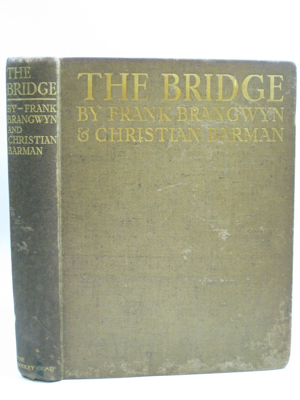 Photo of THE BRIDGE written by Barman, Christian illustrated by Brangwyn, Frank published by John Lane The Bodley Head Limited (STOCK CODE: 1315222)  for sale by Stella & Rose's Books