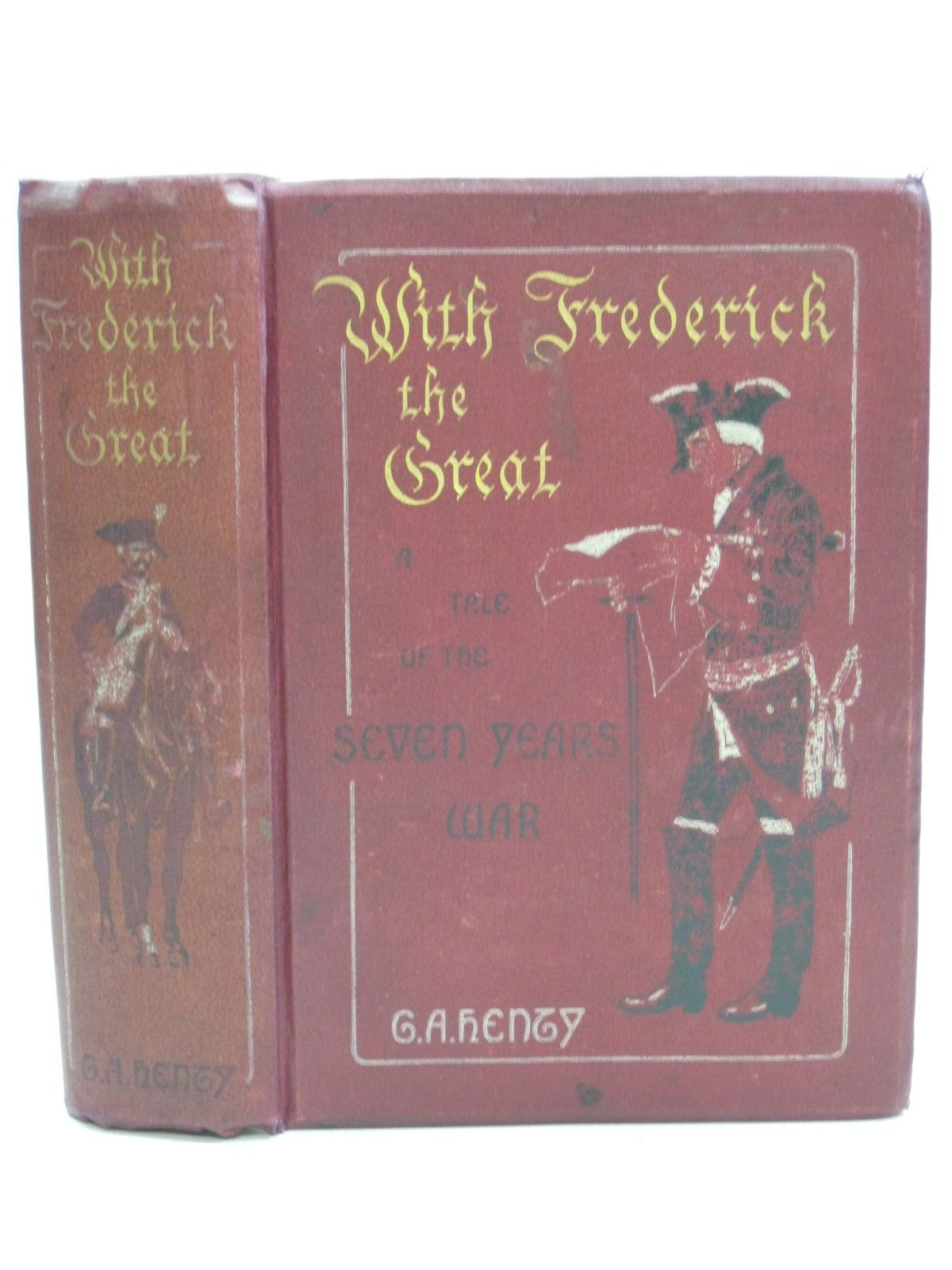 Photo of WITH FREDERICK THE GREAT written by Henty, G.A. illustrated by Paget, Wal published by Blackie & Son Ltd. (STOCK CODE: 1315237)  for sale by Stella & Rose's Books