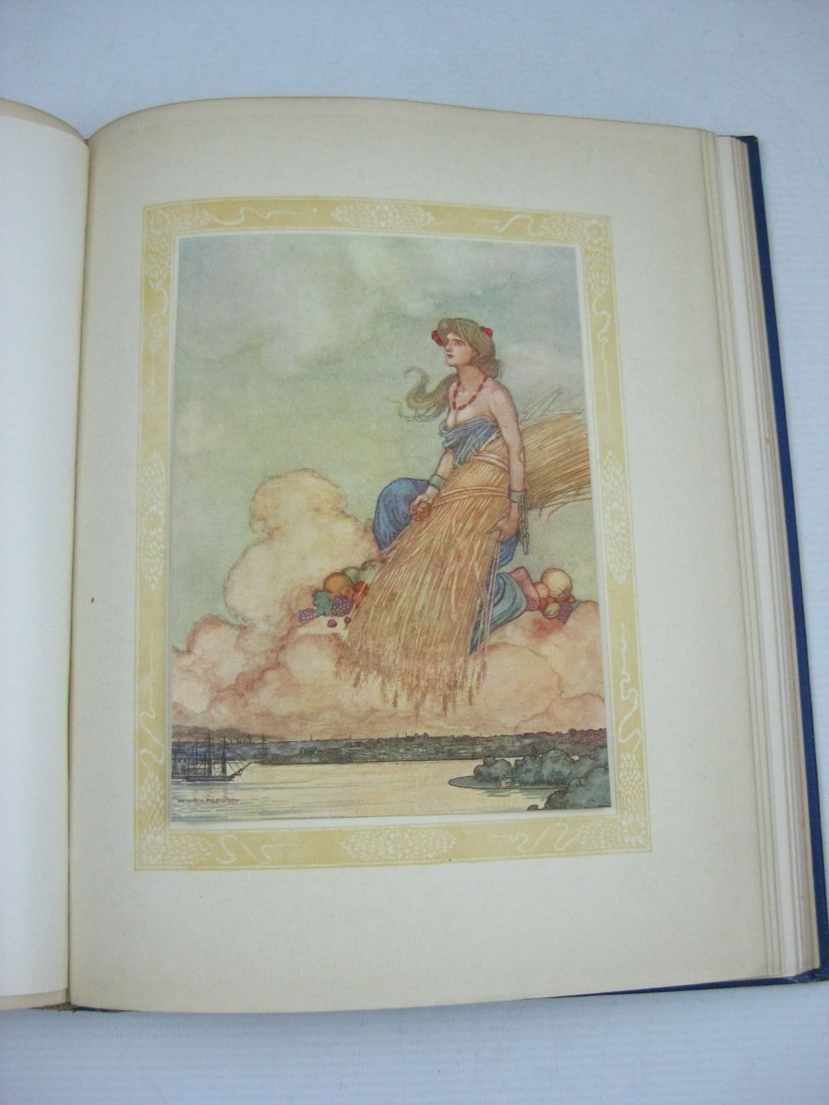 Photo of A SONG OF THE ENGLISH written by Kipling, Rudyard illustrated by Robinson, W. Heath published by Hodder & Stoughton (STOCK CODE: 1315250)  for sale by Stella & Rose's Books