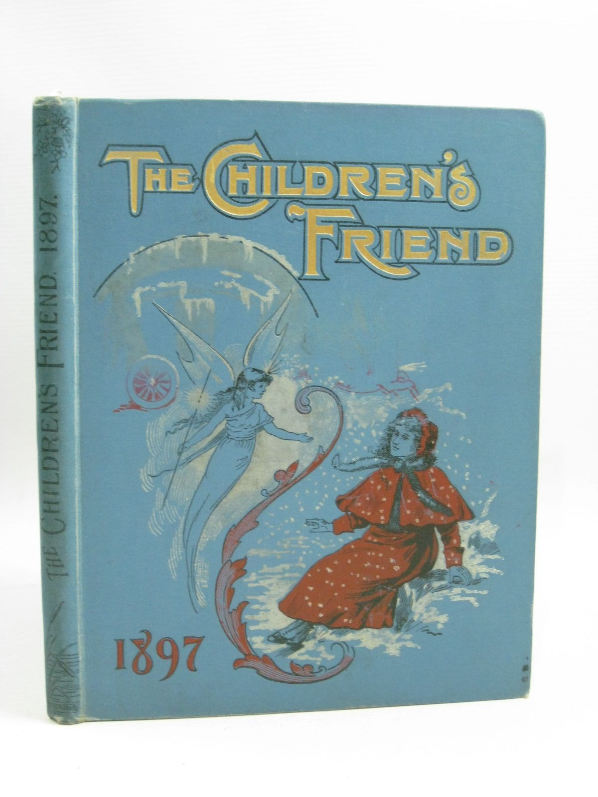 Photo of THE CHILDREN'S FRIEND 1897 written by Waterworth, E.M.<br />Potter, F. Scarlett<br />Chappell, Jennie<br />et al, illustrated by Wain, Louis<br />Soper, George<br />et al., published by S.W. Partridge & Co. (STOCK CODE: 1315266)  for sale by Stella & Rose's Books