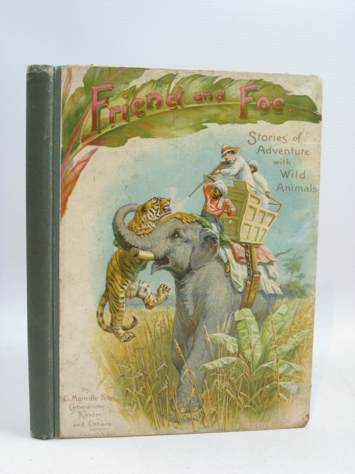 Photo of FRIEND AND FOE written by Fenn, George Manville illustrated by Montefiore, E.B.S. published by Ernest Nister (STOCK CODE: 1315269)  for sale by Stella & Rose's Books