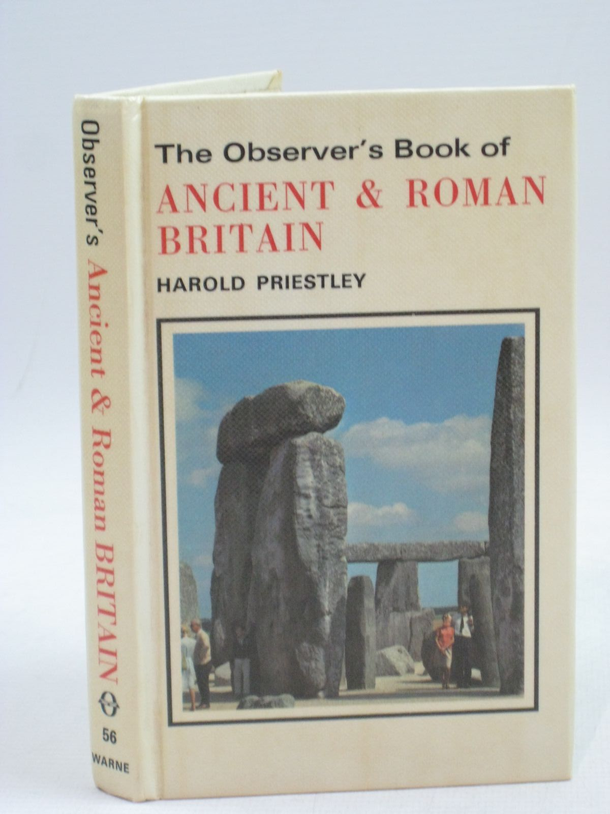 Photo of THE OBSERVER'S BOOK OF ANCIENT AND ROMAN BRITAIN written by Priestley, Harold published by Frederick Warne (STOCK CODE: 1315336)  for sale by Stella & Rose's Books