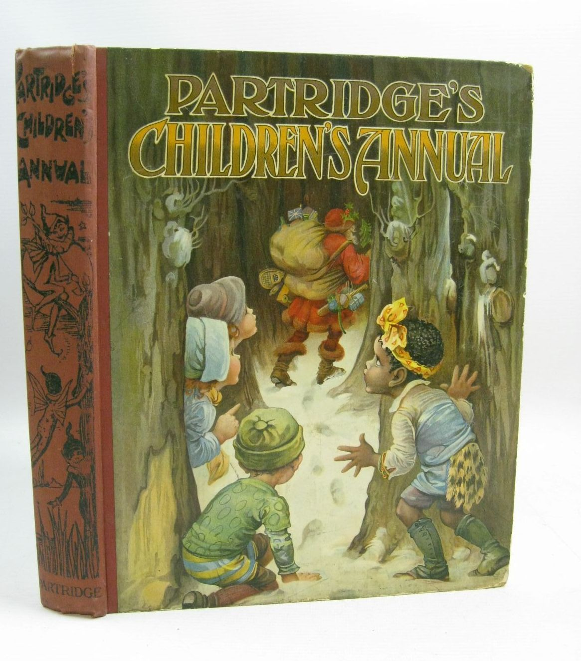 Photo of PARTRIDGE'S CHILDREN'S ANNUAL - 7TH YEAR written by Cash, Agness E.<br />Lea, John<br />Blomfield, Elsie<br />et al, illustrated by Aris, Ernest A.<br />Blomfield, Elsie<br />Bowley, A.L.<br />Cooke, Arthur<br />Wain, Louis<br />et al., published by S.W. Partridge & Co. Ltd. (STOCK CODE: 1315363)  for sale by Stella & Rose's Books