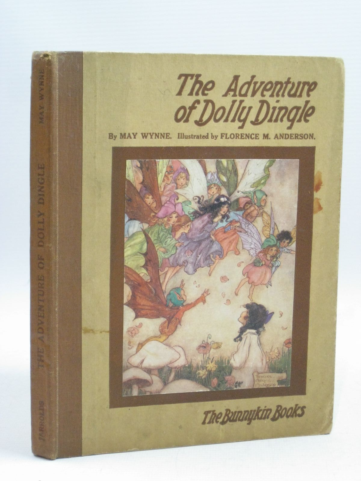Photo of THE ADVENTURE OF DOLLY DINGLE written by Wynne, May illustrated by Anderson, Florence Mary published by Jarrolds Publishers (STOCK CODE: 1315376)  for sale by Stella & Rose's Books