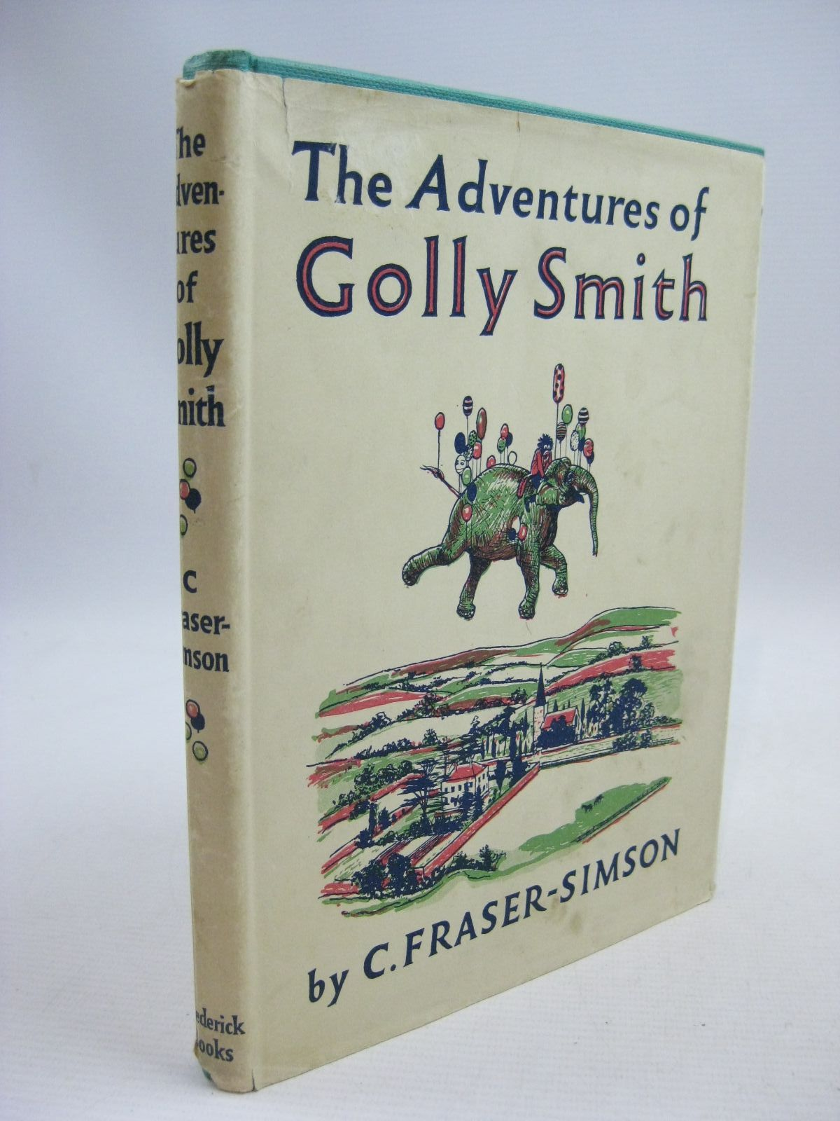 Photo of THE ADVENTURES OF GOLLY SMITH written by Fraser-Simson, C. illustrated by Wilson, Maurice published by Frederick Books, Blackie & Son Ltd. (STOCK CODE: 1315429)  for sale by Stella & Rose's Books