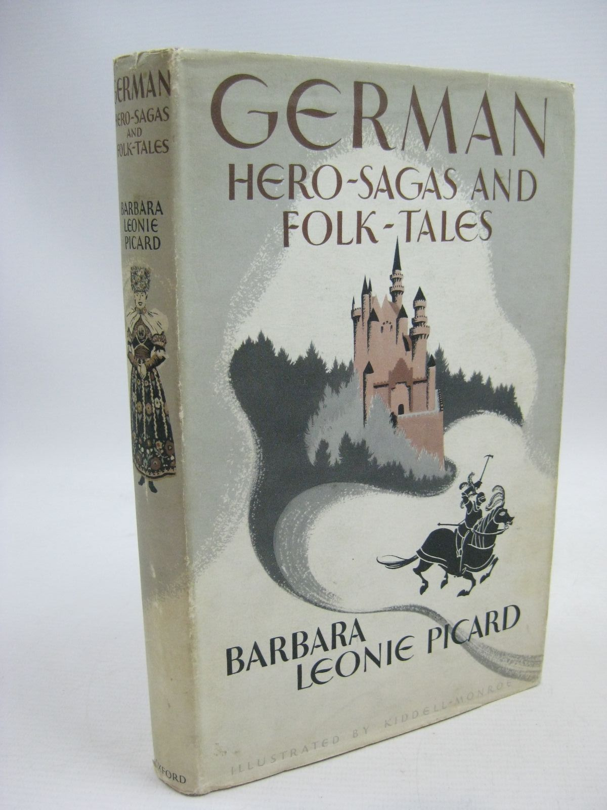 Photo of GERMAN HERO-SAGAS AND FOLK-TALES written by Picard, Barbara Leonie illustrated by Kiddell-Monroe, Joan published by Oxford University Press (STOCK CODE: 1315432)  for sale by Stella & Rose's Books