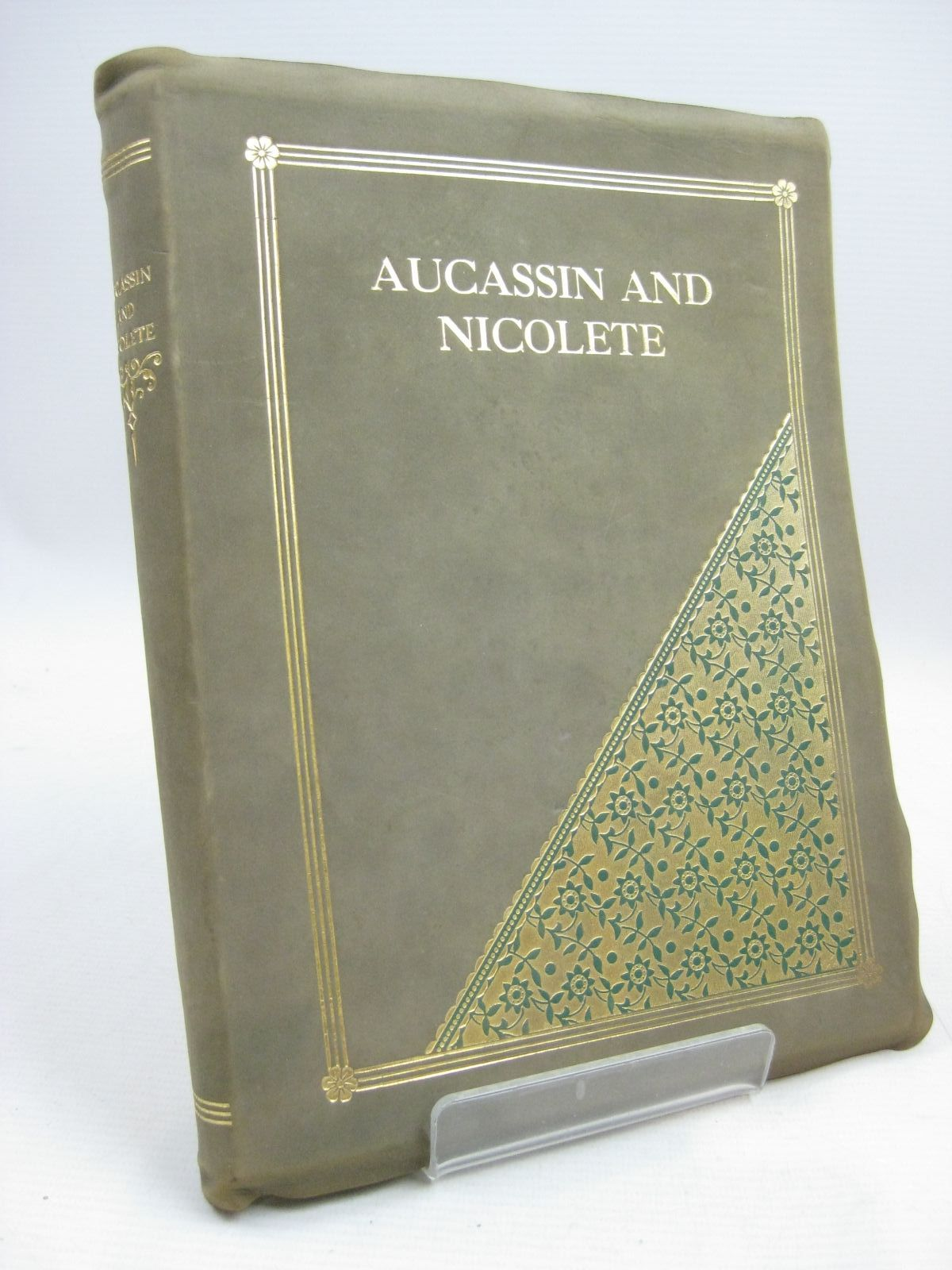 Photo of AUCASSIN AND NICOLETE written by Child, Harold illustrated by Anderson, Anne published by Adam & Charles Black (STOCK CODE: 1315473)  for sale by Stella & Rose's Books