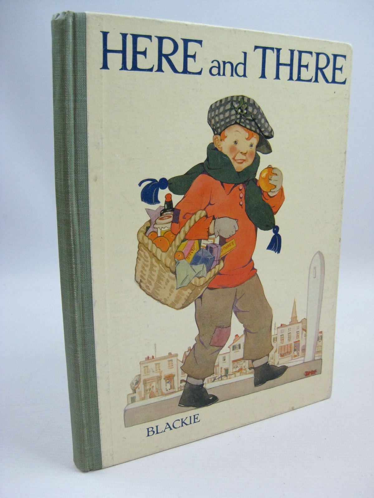 Photo of HERE AND THERE written by Stebbing, Evelyn<br />Talbot, Ethel<br />Massie, Alice<br />Herbertson, Jessie Leckie<br />et al, illustrated by Appleton, Honor C.<br />Rountree, Harry<br />Hart, Frank<br />et al., published by Blackie & Son Ltd. (STOCK CODE: 1315476)  for sale by Stella & Rose's Books