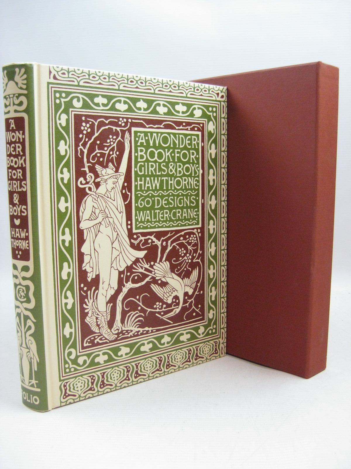 Photo of A WONDER BOOK FOR GIRLS & BOYS written by Hawthorne, Nathaniel illustrated by Crane, Walter published by Folio Society (STOCK CODE: 1315487)  for sale by Stella & Rose's Books