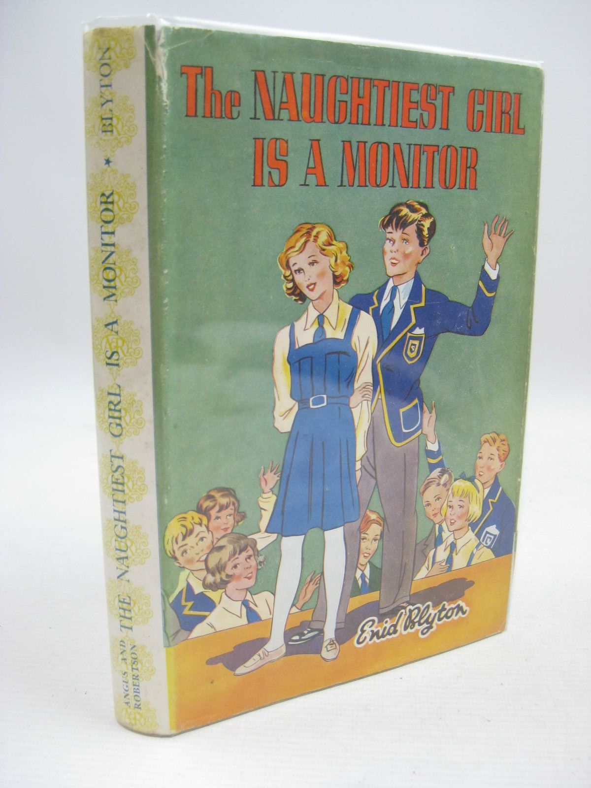 Photo of THE NAUGHTIEST GIRL IS A MONITOR written by Blyton, Enid illustrated by Lovell, Kenneth published by Angus & Robertson Ltd. (STOCK CODE: 1315508)  for sale by Stella & Rose's Books