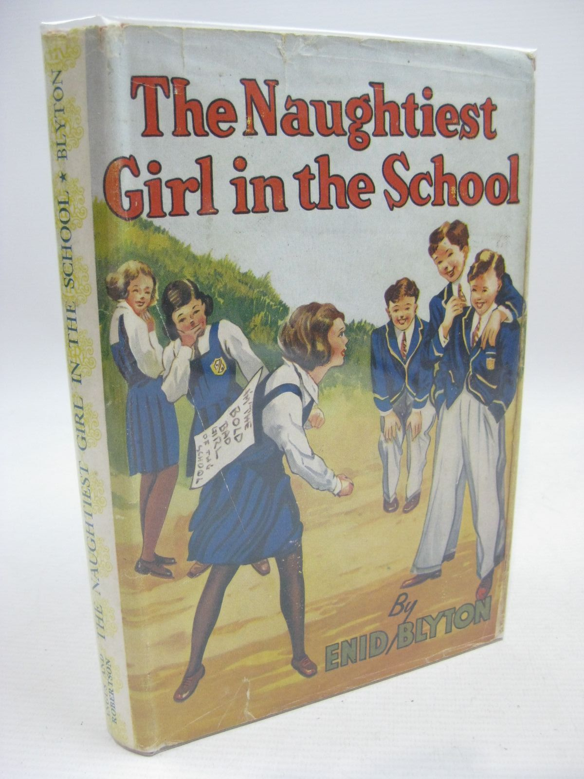 Photo of THE NAUGHTIEST GIRL IN THE SCHOOL written by Blyton, Enid illustrated by Cable, W. Lindsay published by Angus & Robertson Ltd. (STOCK CODE: 1315510)  for sale by Stella & Rose's Books