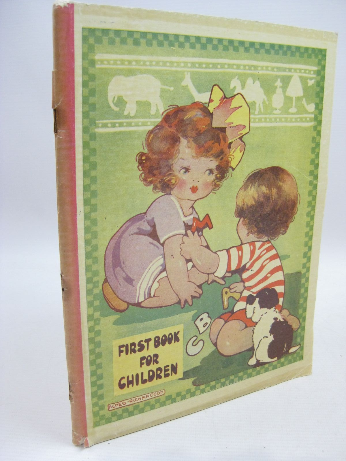 Photo of FIRST BOOK FOR CHILDREN illustrated by Richardson, Agnes (STOCK CODE: 1315528)  for sale by Stella & Rose's Books