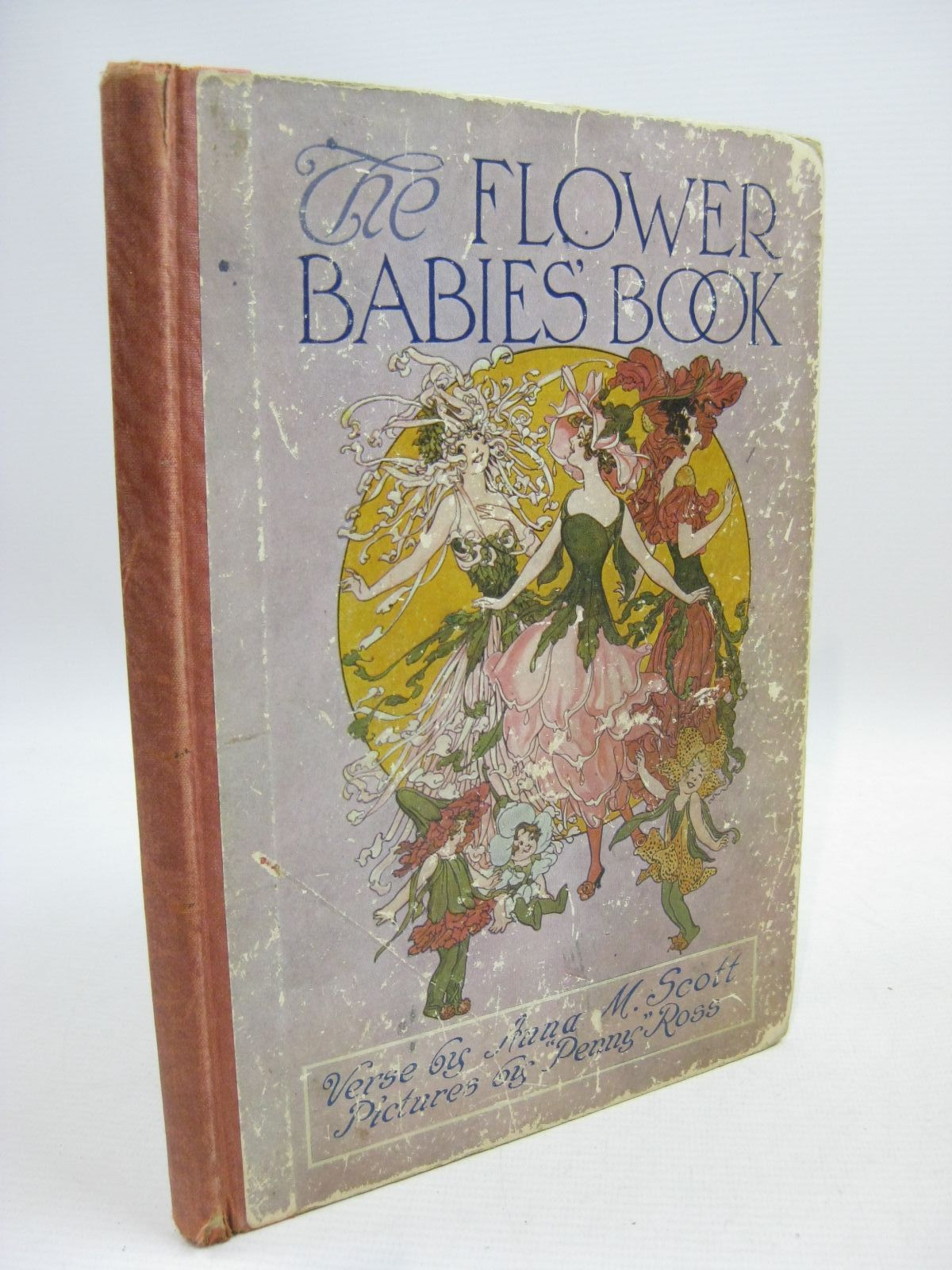 Photo of THE FLOWER BABIES' BOOK written by Scott, Anna Miller illustrated by Ross, M.T. published by Rand McNally & Co. (STOCK CODE: 1315529)  for sale by Stella & Rose's Books