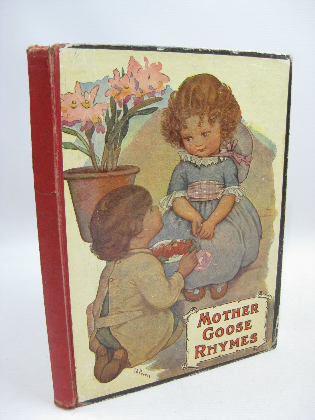 Photo of MOTHER GOOSE RHYMES illustrated by Pearse, S.B.<br />Ackroyd, Winifred M. published by J. Coker & Co. Ltd. (STOCK CODE: 1315536)  for sale by Stella & Rose's Books