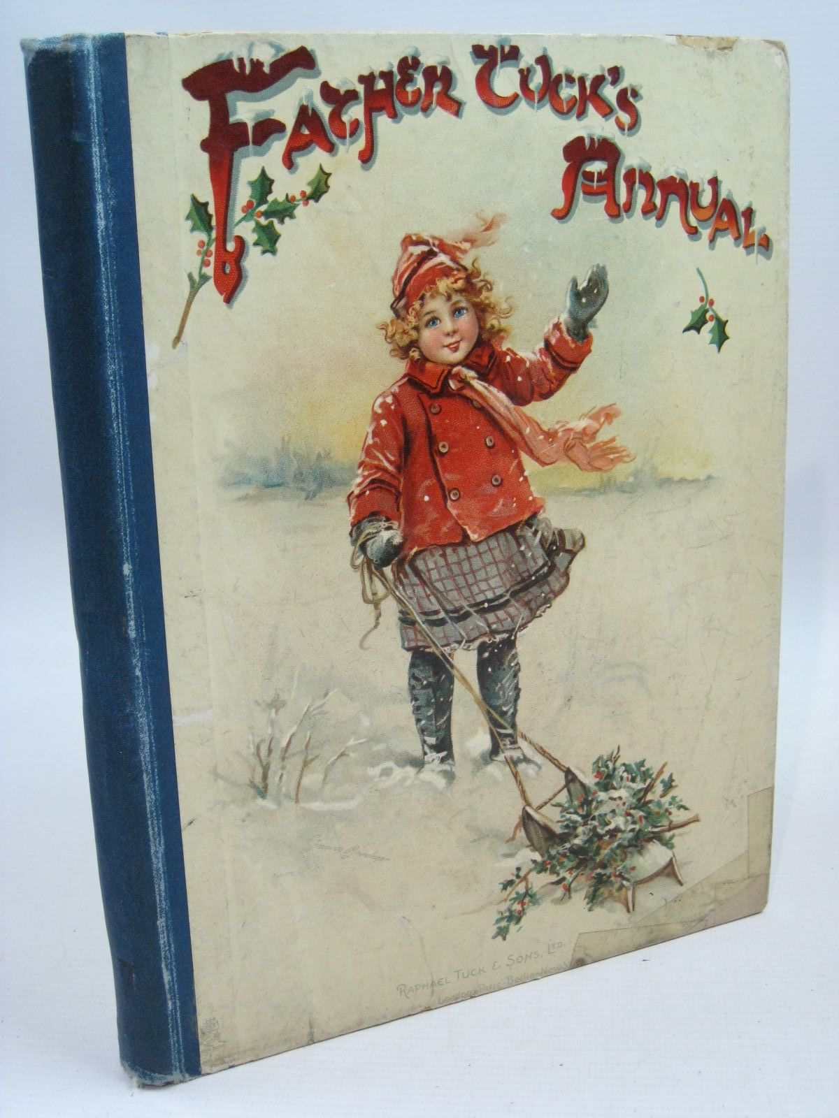 Photo of FATHER TUCK'S ANNUAL - 7TH YEAR written by Chesson, Nora<br />Burnside, Helen Marion<br />et al,  illustrated by Attwell, Mabel Lucie<br />Cowham, Hilda<br />Bowley, M. published by Raphael Tuck & Sons Ltd. (STOCK CODE: 1315555)  for sale by Stella & Rose's Books