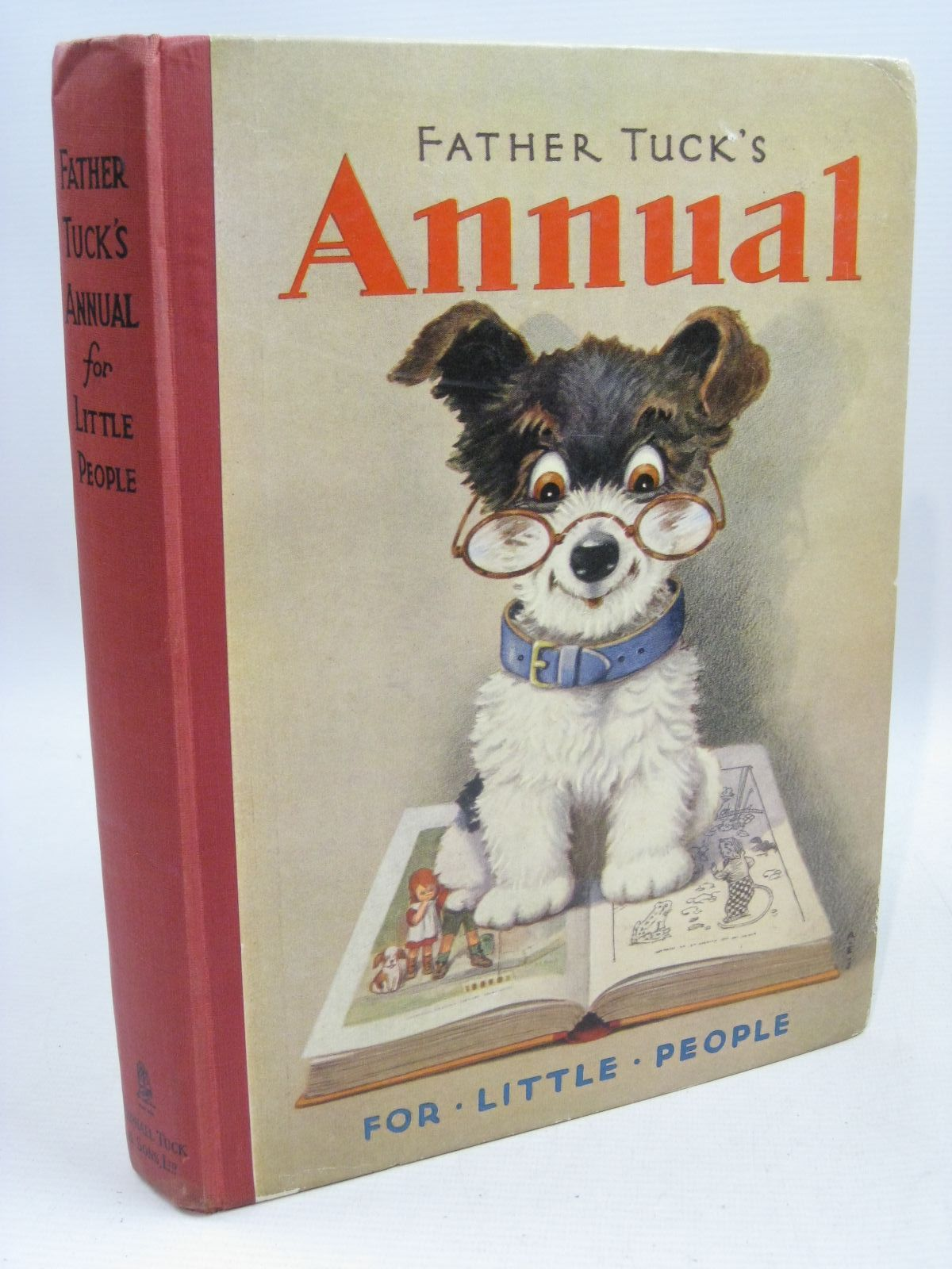 Photo of FATHER TUCK'S ANNUAL FOR LITTLE PEOPLE - 16TH YEAR written by Rutley, Cecily M.<br />Slade, Gurney<br />Rhodes, Margaret<br />et al, illustrated by Robinson, Gordon<br />Mallet, Beatrice<br />Cloke, Rene<br />et al., published by Raphael Tuck & Sons Ltd. (STOCK CODE: 1315556)  for sale by Stella & Rose's Books