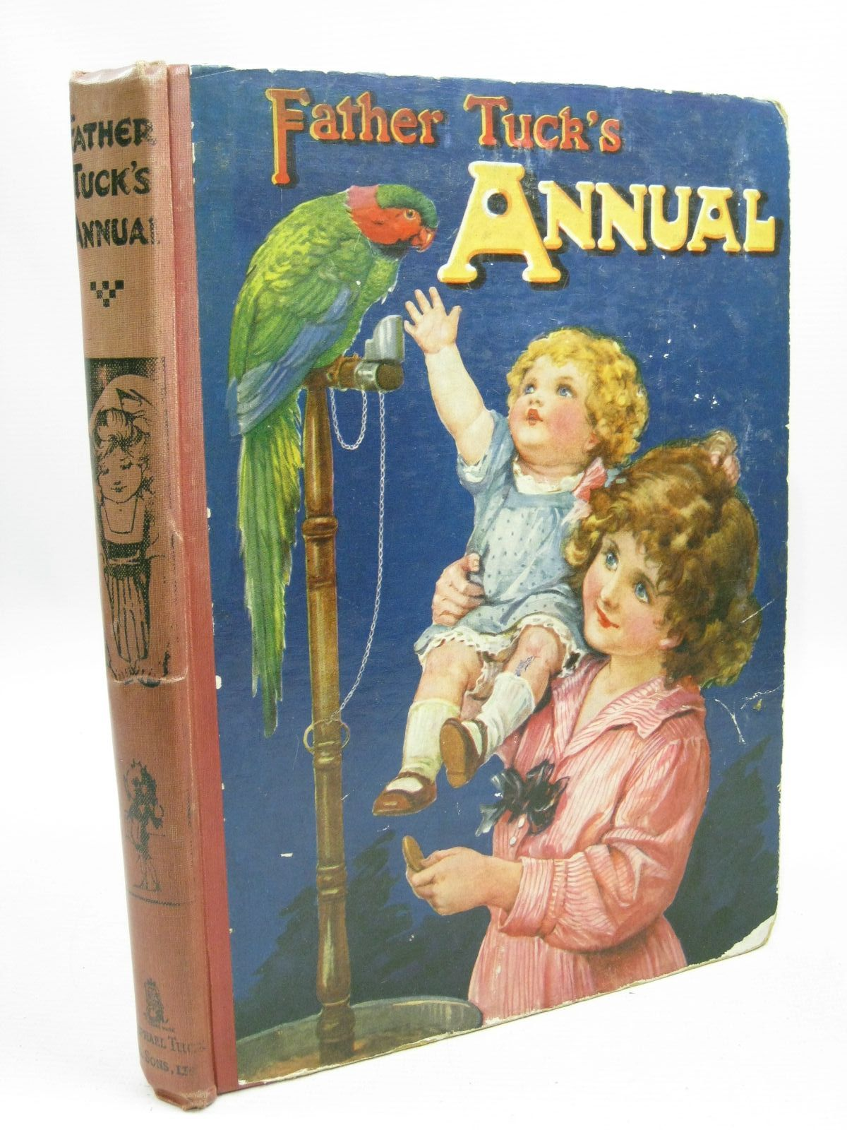 Photo of FATHER TUCK'S ANNUAL written by Vredenburg, Edric<br />et al,  illustrated by Cowham, Hilda<br />Attwell, Mabel Lucie<br />Wain, Louis<br />et al.,  published by Raphael Tuck & Sons Ltd. (STOCK CODE: 1315557)  for sale by Stella & Rose's Books