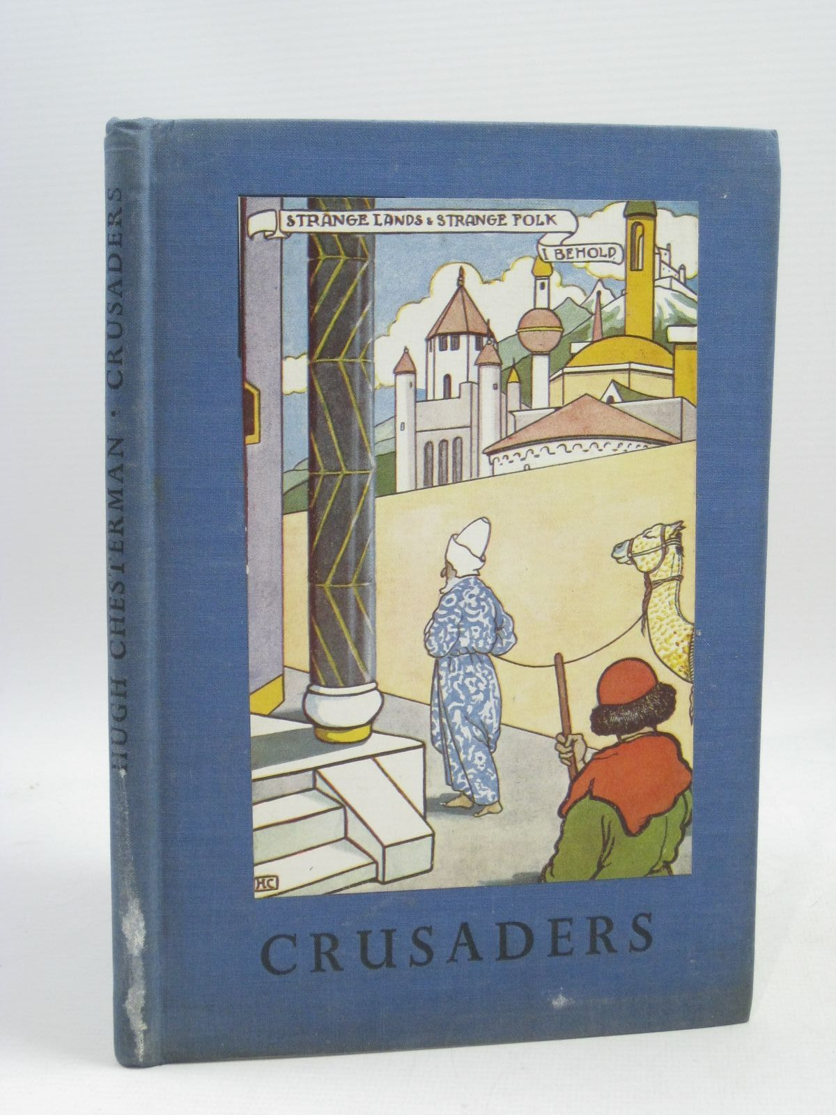 Photo of CRUSADERS written by Chesterman, Hugh<br />De La Mare, Walter illustrated by Chesterman, Hugh published by Basil Blackwell (STOCK CODE: 1315571)  for sale by Stella & Rose's Books