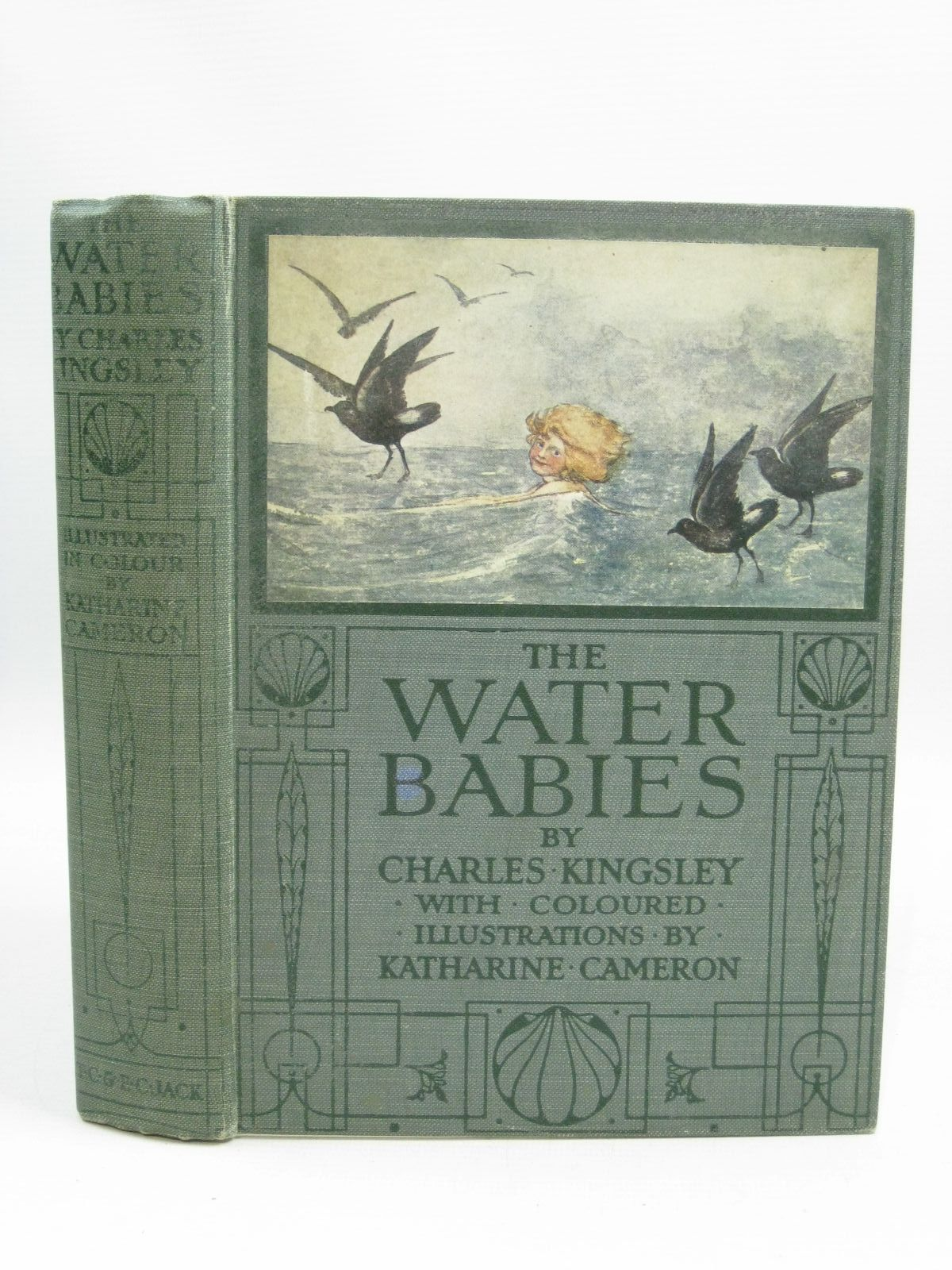Photo of THE WATER BABIES written by Kingsley, Charles illustrated by Cameron, Katharine published by T.C. & E.C. Jack Ltd. (STOCK CODE: 1315580)  for sale by Stella & Rose's Books