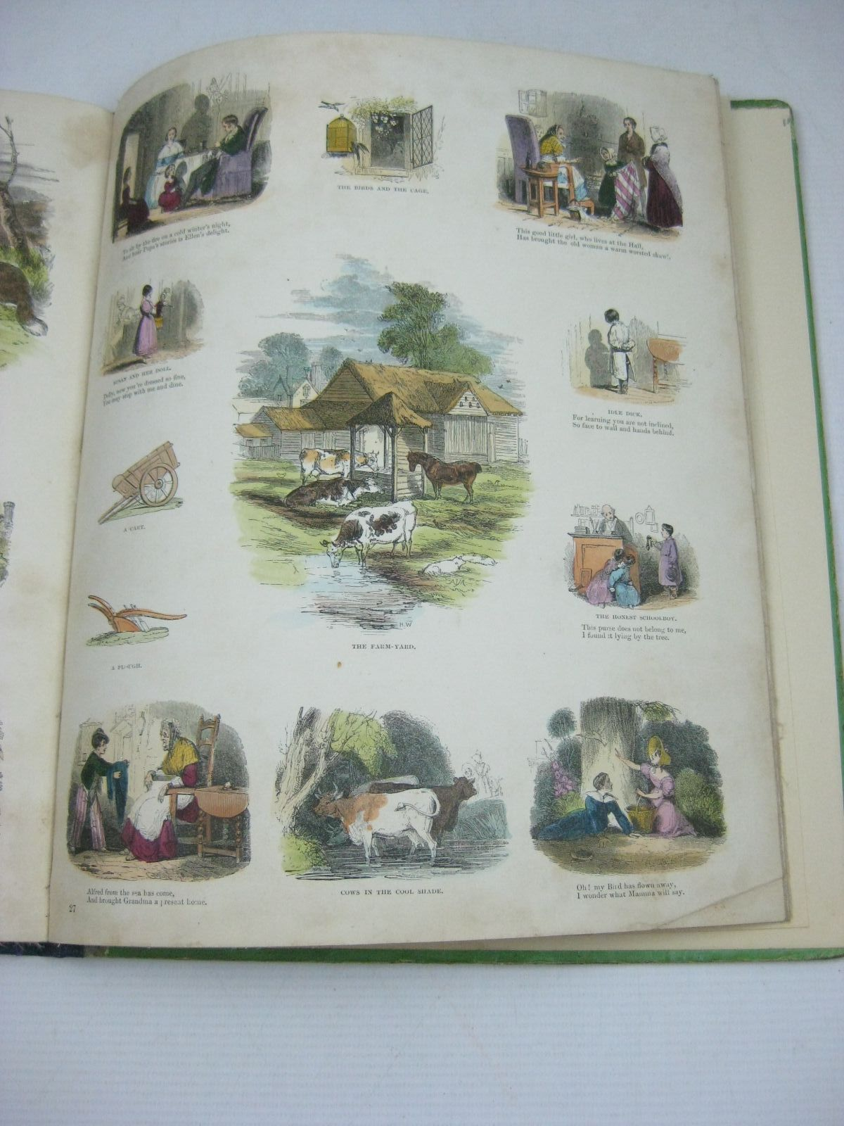 Photo of THE FAVOURITE PICTURE BOOK illustrated by Absolon, John<br />Browne, Halbot Knight Phiz<br />Gilbert, John<br />Landseer, Thomas<br />Leech, John<br />Prout, J.S.<br />Weir, Harrison<br />et al., published by Grant and Griffith (STOCK CODE: 1315585)  for sale by Stella & Rose's Books