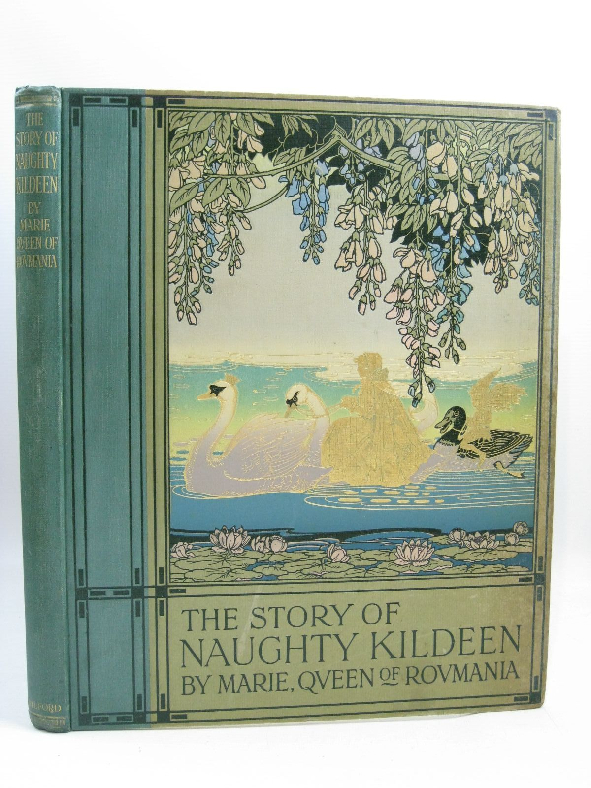 Photo of THE STORY OF NAUGHTY KILDEEN written by Roumania, Marie Queen Of illustrated by Job, published by Oxford University Press, Humphrey Milford (STOCK CODE: 1315588)  for sale by Stella & Rose's Books