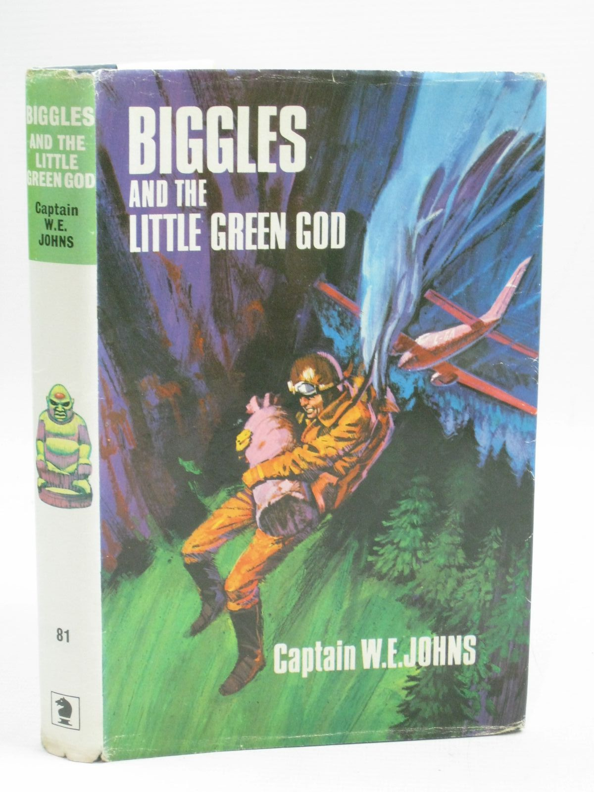 Photo of BIGGLES AND THE LITTLE GREEN GOD written by Johns, W.E. published by Brockhampton Press (STOCK CODE: 1315597)  for sale by Stella & Rose's Books