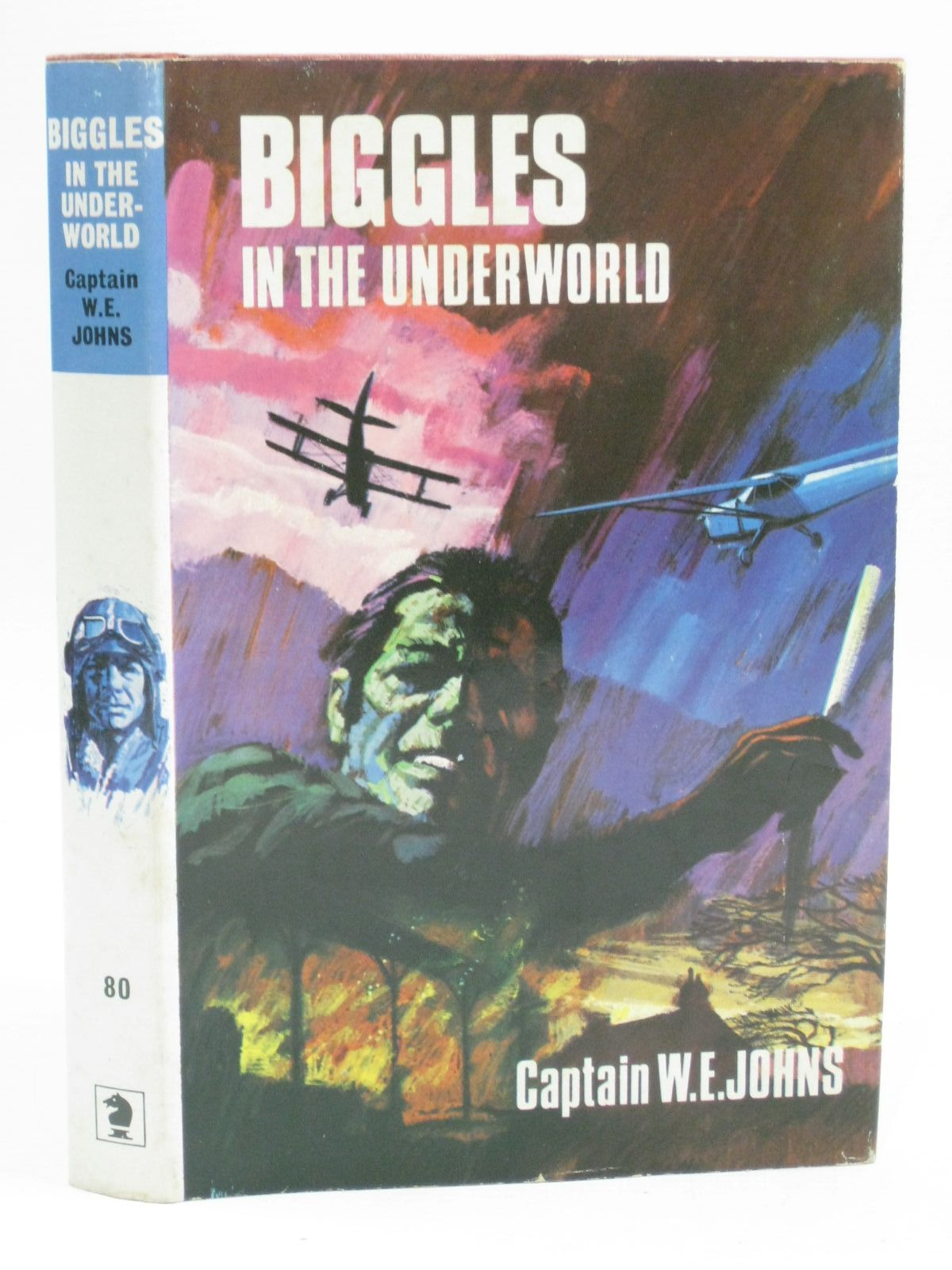 Photo of BIGGLES IN THE UNDERWORLD written by Johns, W.E. published by Brockhampton Press Ltd. (STOCK CODE: 1315602)  for sale by Stella & Rose's Books