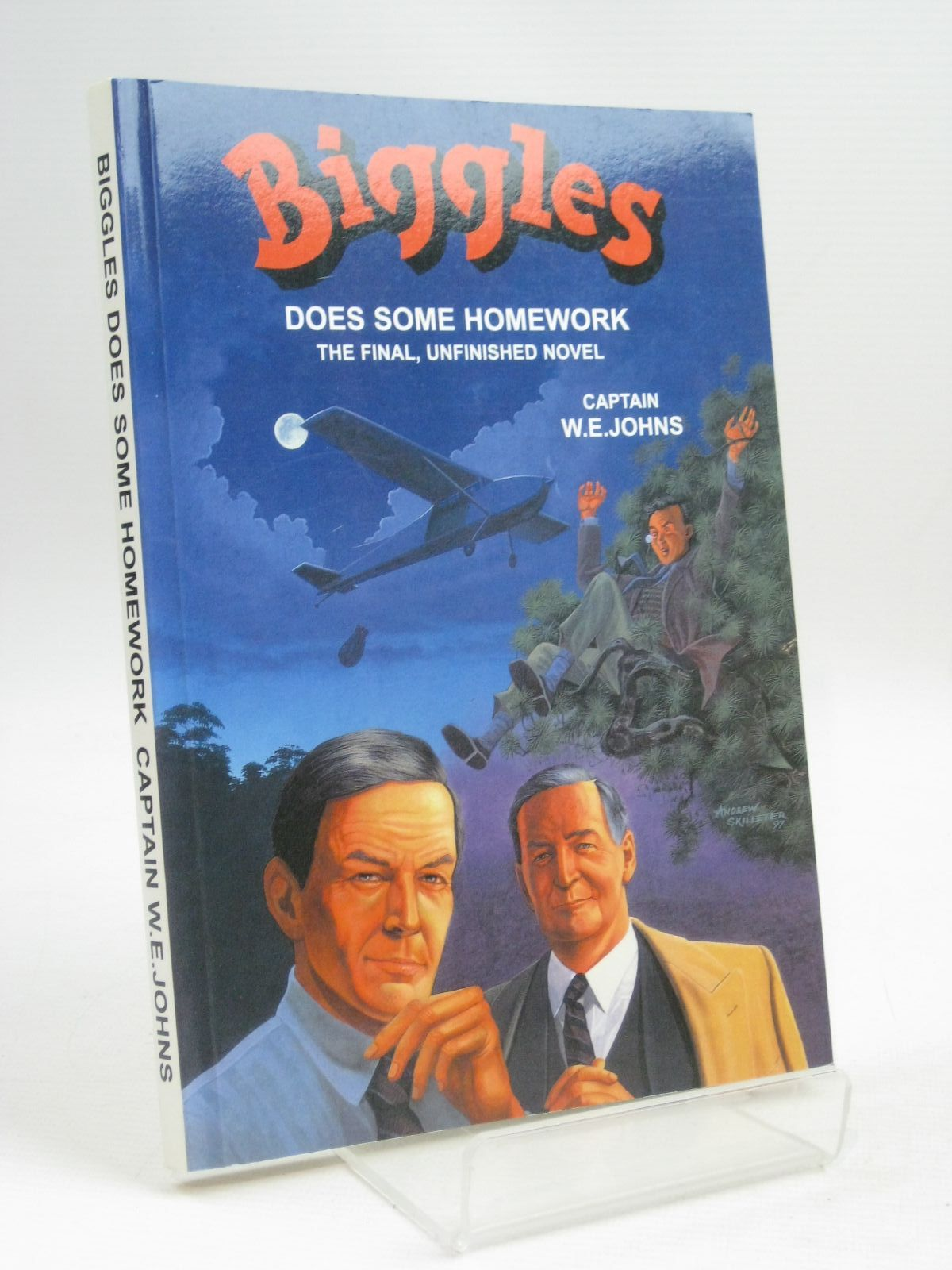 Photo of BIGGLES DOES SOME HOMEWORK written by Johns, W.E.<br />Wright, Norman<br />Schofield, Jennifer illustrated by Skilleter, Andrew published by Norman Wright, Jennifer Schofield (STOCK CODE: 1315608)  for sale by Stella & Rose's Books