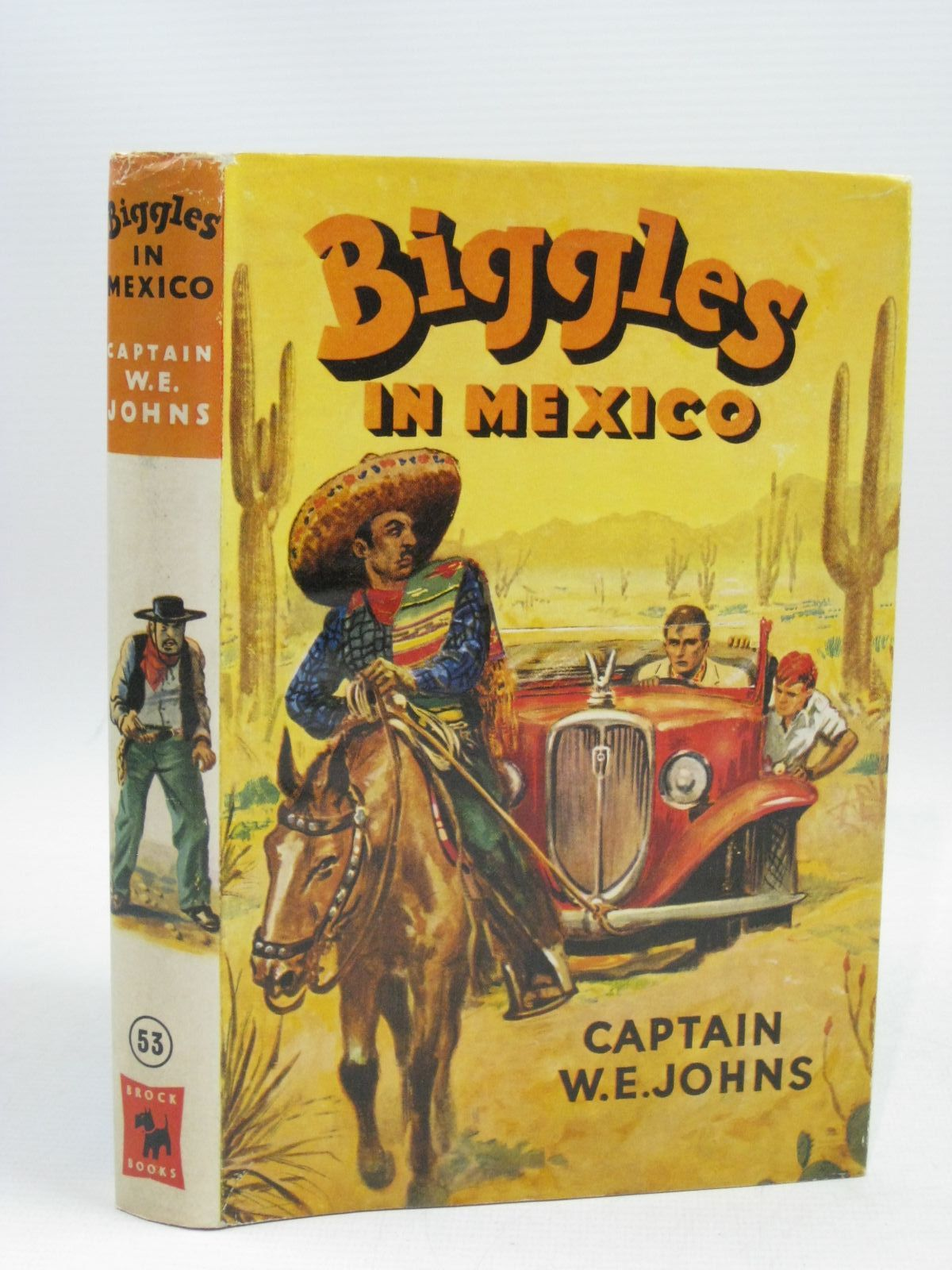 Photo of BIGGLES IN MEXICO written by Johns, W.E. illustrated by Stead, Leslie published by Brockhampton Press (STOCK CODE: 1315620)  for sale by Stella & Rose's Books