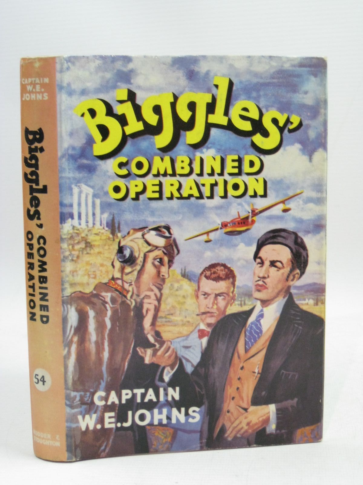 Photo of BIGGLES' COMBINED OPERATION written by Johns, W.E. illustrated by Stead,  published by Hodder & Stoughton (STOCK CODE: 1315621)  for sale by Stella & Rose's Books