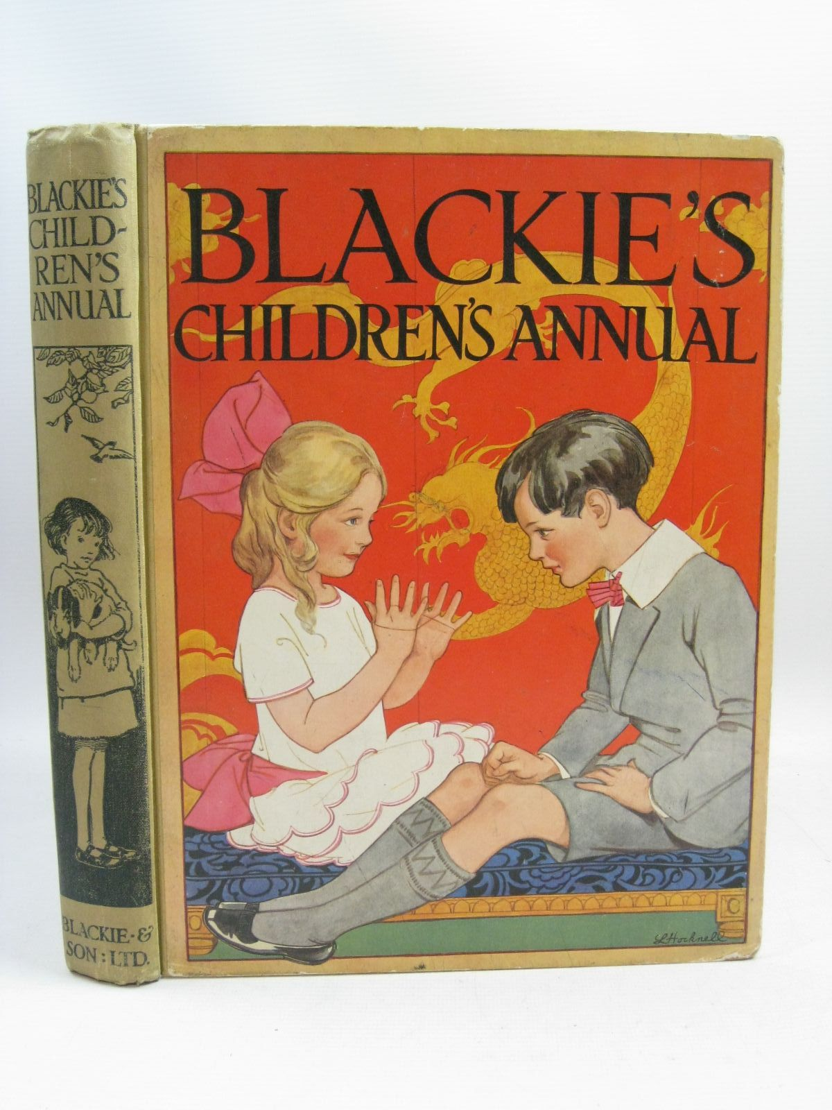 Photo of BLACKIE'S CHILDREN'S ANNUAL 21ST YEAR written by Wemyss, Mrs. George<br />Barnes, Madeline<br />Scott-Hopper, Queenie<br />Pocock, Doris<br />Talbot, Ethel<br />et al,  illustrated by Hiley, Francis E.<br />Brisley, Joyce Lankester<br />Brisley, Nina K.<br />Petherick, Rosa C.<br />Aris, Ernest A.<br />Barker, Cicely Mary<br />et al.,  published by Blackie & Son Ltd. (STOCK CODE: 1315640)  for sale by Stella & Rose's Books