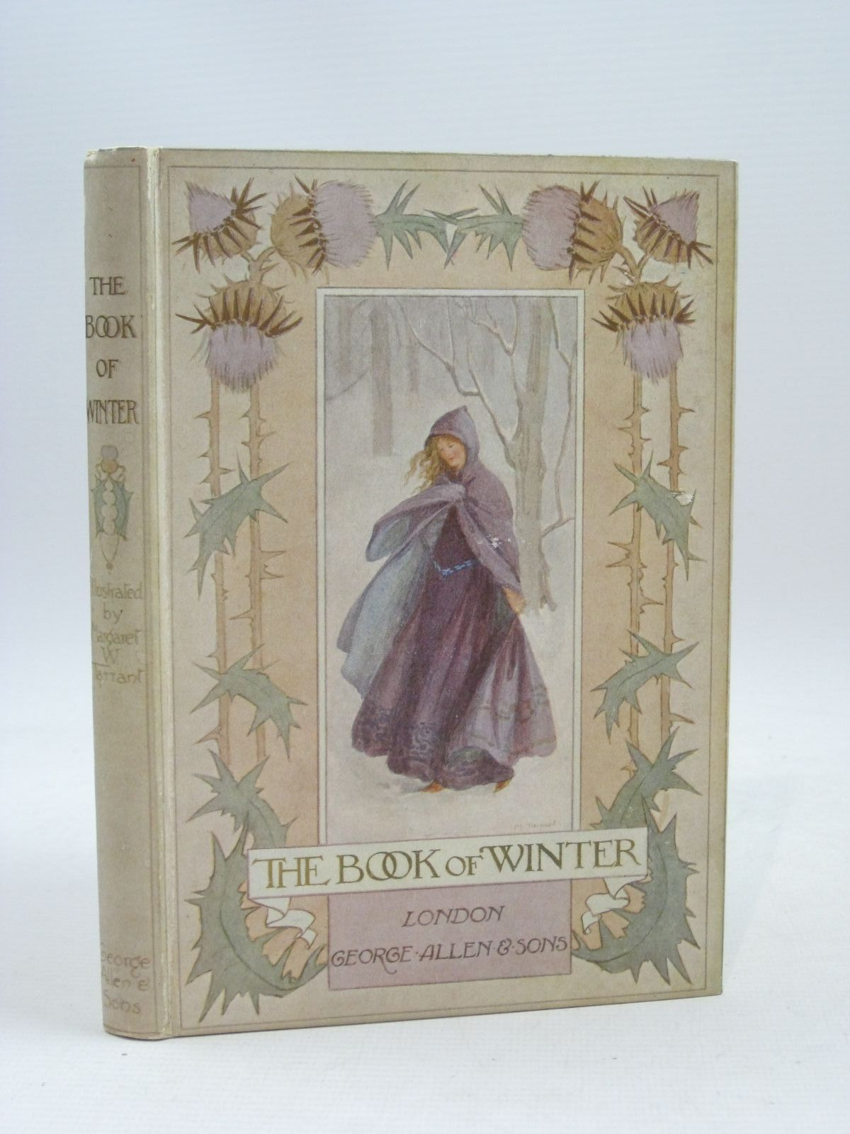 Photo of THE BOOK OF WINTER written by Shelley, Percy Bysshe<br />Shakespeare, William<br />Dobson, Austin<br />et al,  illustrated by Tarrant, Margaret published by George Allen & Sons (STOCK CODE: 1315644)  for sale by Stella & Rose's Books