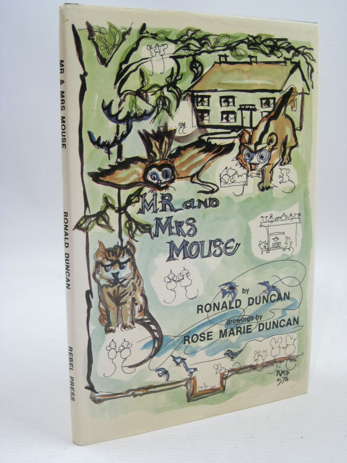 Photo of MR AND MRS MOUSE written by Duncan, Ronald illustrated by Duncan, Rose Marie published by The Rebel Press (STOCK CODE: 1315653)  for sale by Stella & Rose's Books