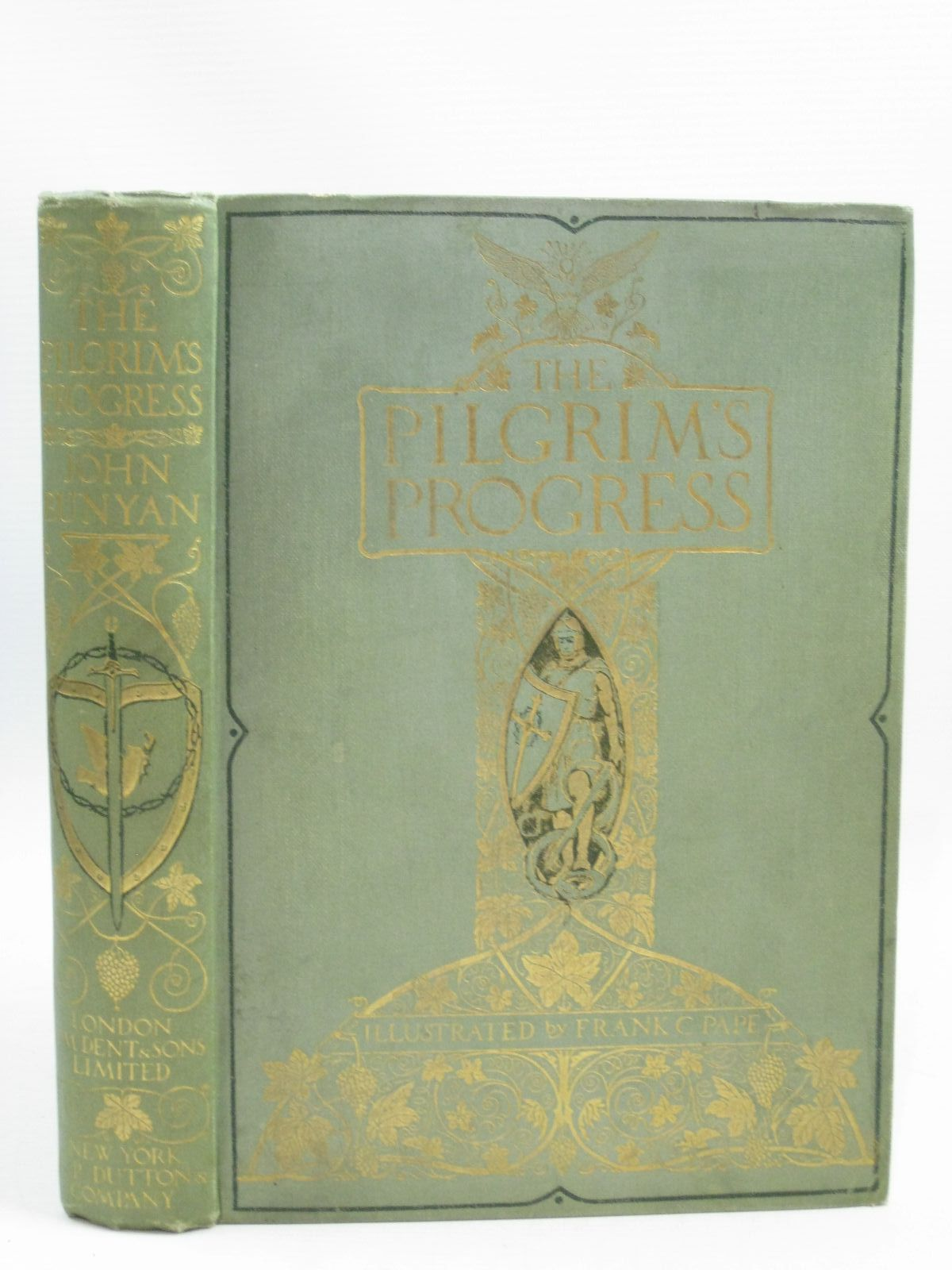 Photo of THE PILGRIM'S PROGRESS written by Bunyan, John illustrated by Pape, Frank C. published by J.M. Dent & Sons Ltd. (STOCK CODE: 1315673)  for sale by Stella & Rose's Books