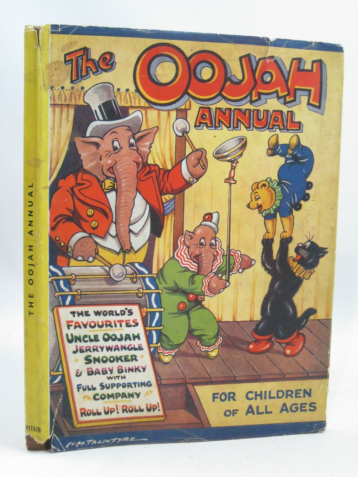 Photo of THE OOJAH ANNUAL written by Lancaster, Flo. illustrated by Talintyre, H.M. published by H.A. and W.L. Pitkin Ltd. (STOCK CODE: 1315692)  for sale by Stella & Rose's Books