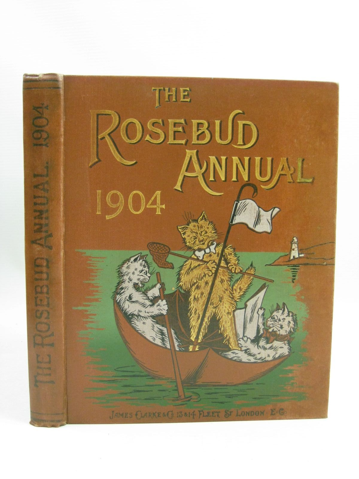Photo of THE ROSEBUD ANNUAL 1904 written by Farrar, E.D.<br />Manners, Mary E.<br />et al, illustrated by Wain, Louis<br />Leigh, Felix<br />Blomfield, E.<br />et al., published by James Clarke & Co. (STOCK CODE: 1315701)  for sale by Stella & Rose's Books