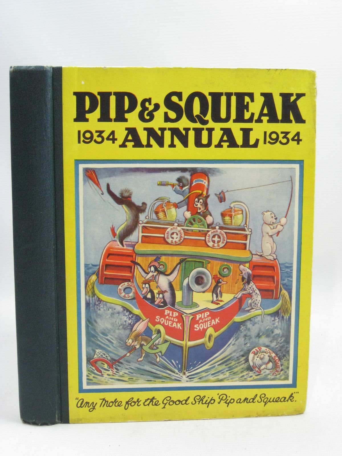 Photo of PIP & SQUEAK ANNUAL 1934 published by Daily Mirror (STOCK CODE: 1315731)  for sale by Stella & Rose's Books