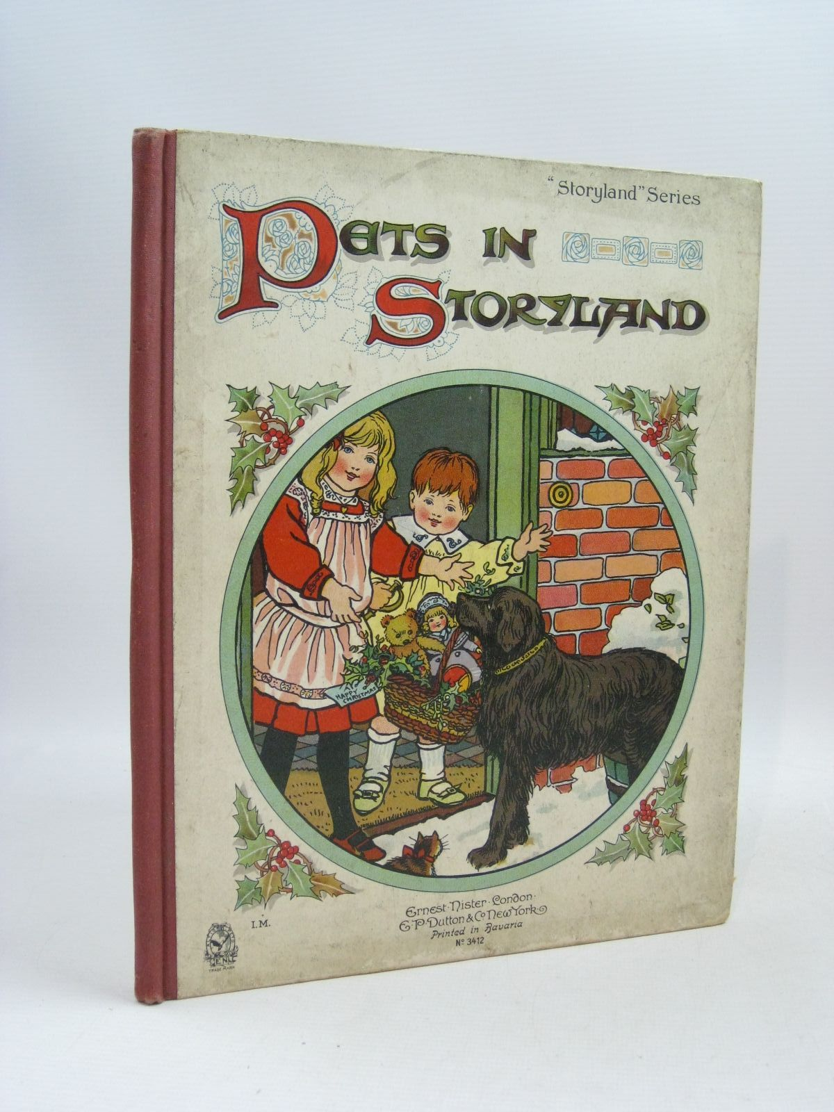 Photo of PETS IN STORYLAND published by Ernest Nister, E.P. Dutton & Co. (STOCK CODE: 1315733)  for sale by Stella & Rose's Books