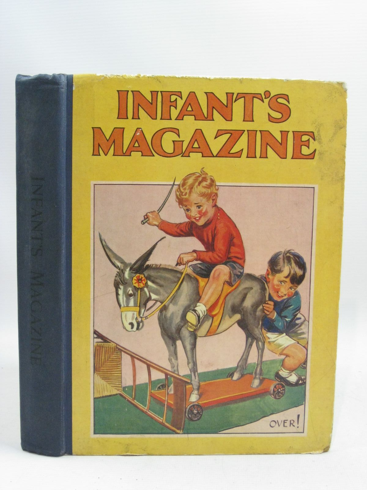 Photo of THE INFANT'S MAGAZINE written by Dew, John<br />Herbertson, Agnes Grozier<br />Talbot, Ethel<br />Lea, John<br />Stevenson, Mabel M.<br />et al, illustrated by Aris, Ernest A.<br />Temple, Chris<br />Cobb, Ruth<br />Hoyle, Joan<br />et al., published by Partridge (STOCK CODE: 1315750)  for sale by Stella & Rose's Books