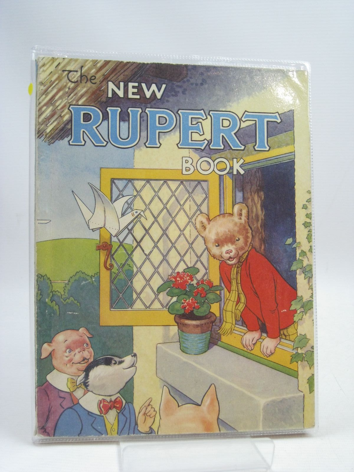 Photo of RUPERT ANNUAL 1946 - THE NEW RUPERT BOOK written by Bestall, Alfred illustrated by Bestall, Alfred published by Daily Express (STOCK CODE: 1315767)  for sale by Stella & Rose's Books