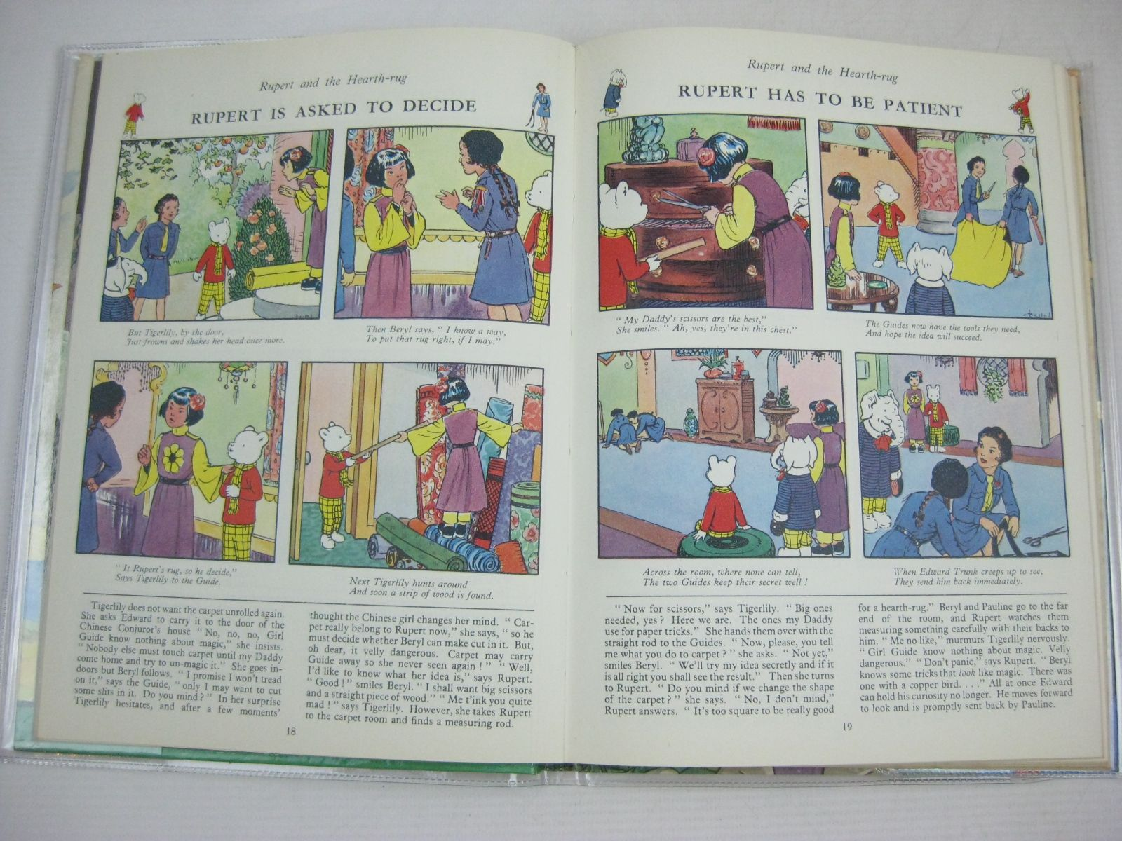 Photo of RUPERT ANNUAL 1961 written by Bestall, Alfred illustrated by Bestall, Alfred published by Daily Express (STOCK CODE: 1315772)  for sale by Stella & Rose's Books