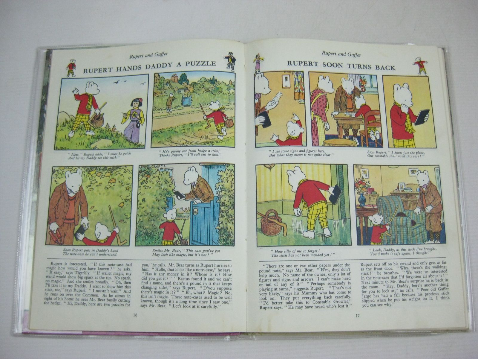 Photo of RUPERT ANNUAL 1965 written by Bestall, Alfred illustrated by Bestall, Alfred published by Daily Express (STOCK CODE: 1315773)  for sale by Stella & Rose's Books