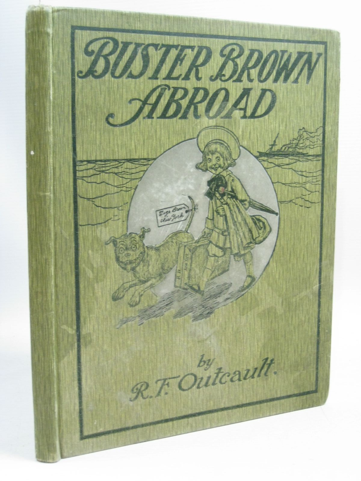 Photo of BUSTER BROWN ABROAD written by Outcault, R.F. illustrated by Outcault, R.F. published by W. & R. Chambers Limited (STOCK CODE: 1315798)  for sale by Stella & Rose's Books