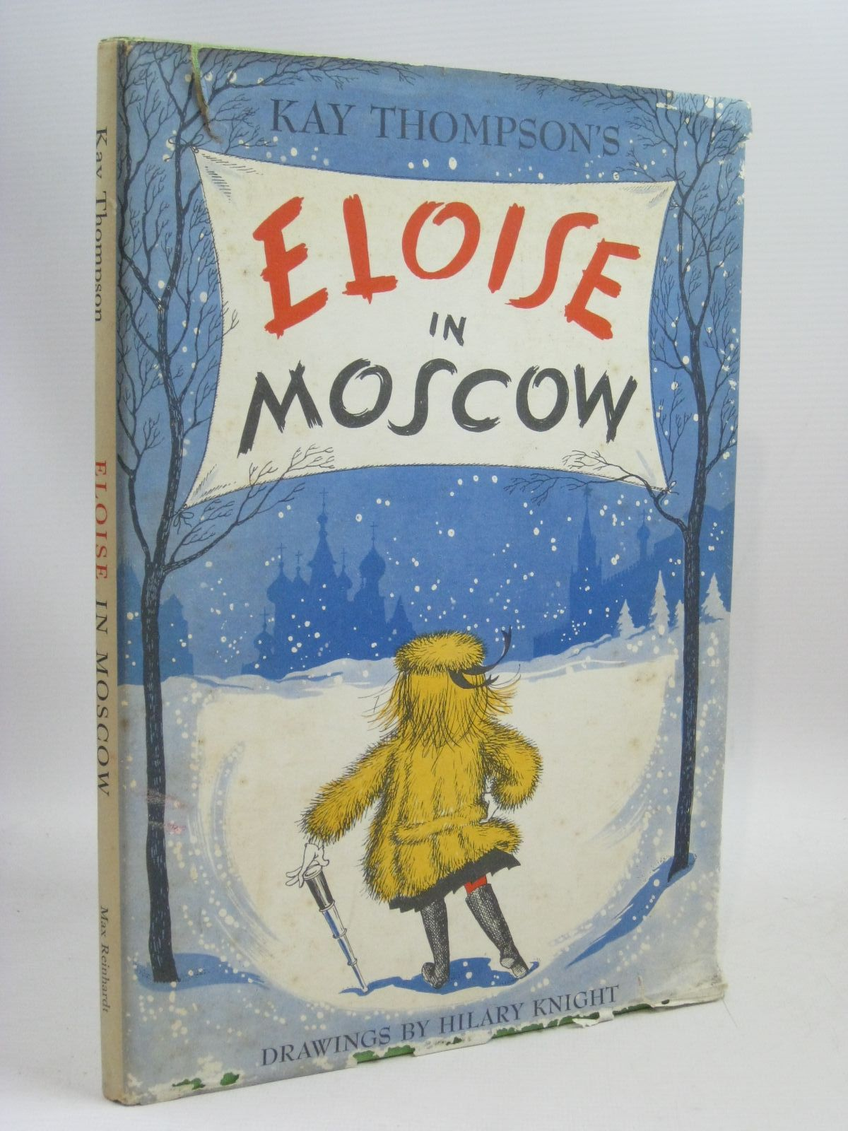 Photo of ELOISE IN MOSCOW written by Thompson, Kay illustrated by Knight, Hilary published by Max Reinhardt (STOCK CODE: 1315800)  for sale by Stella & Rose's Books