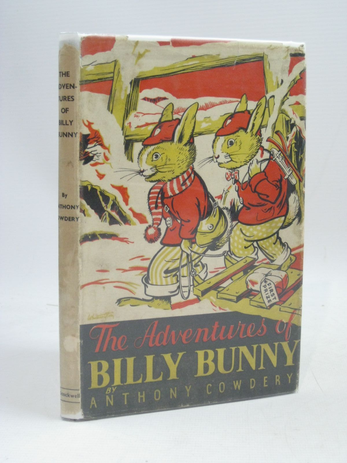 Photo of THE ADVENTURES OF BILLY BUNNY written by Cowdery, Anthony illustrated by Cowdery, Anthony published by Arthur H. Stockwell Ltd. (STOCK CODE: 1315825)  for sale by Stella & Rose's Books
