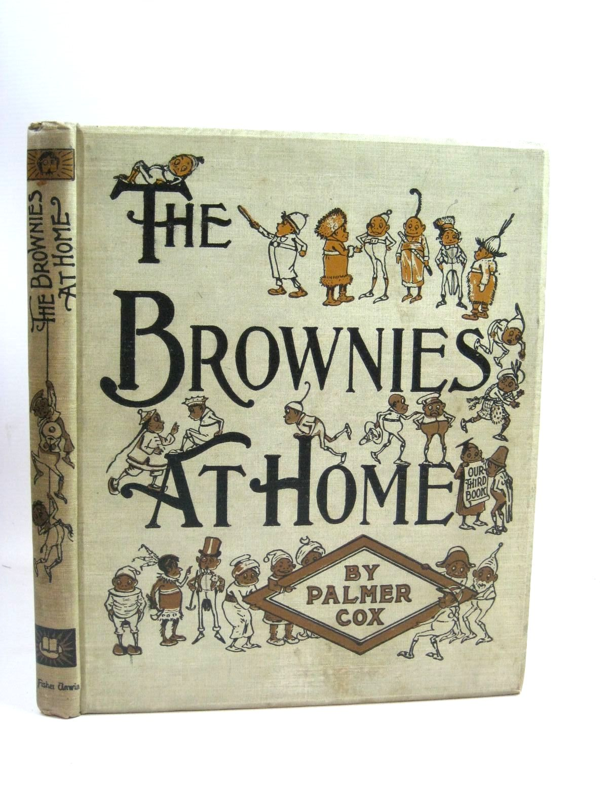Photo of THE BROWNIES AT HOME written by Cox, Palmer illustrated by Cox, Palmer published by The Century Co. (STOCK CODE: 1315831)  for sale by Stella & Rose's Books