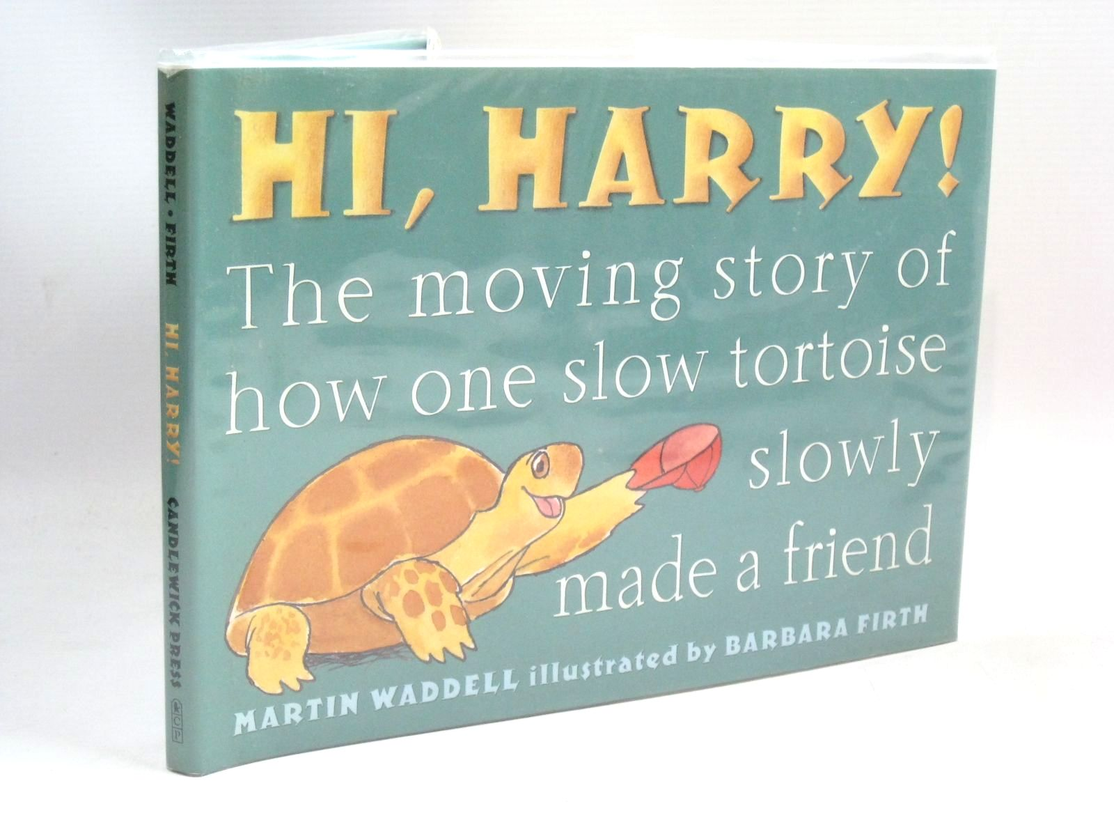 Photo of HI, HARRY! written by Waddell, Martin illustrated by Firth, Barbara published by Candlewick Press (STOCK CODE: 1315855)  for sale by Stella & Rose's Books